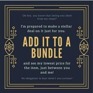 Like something? Bundle it !