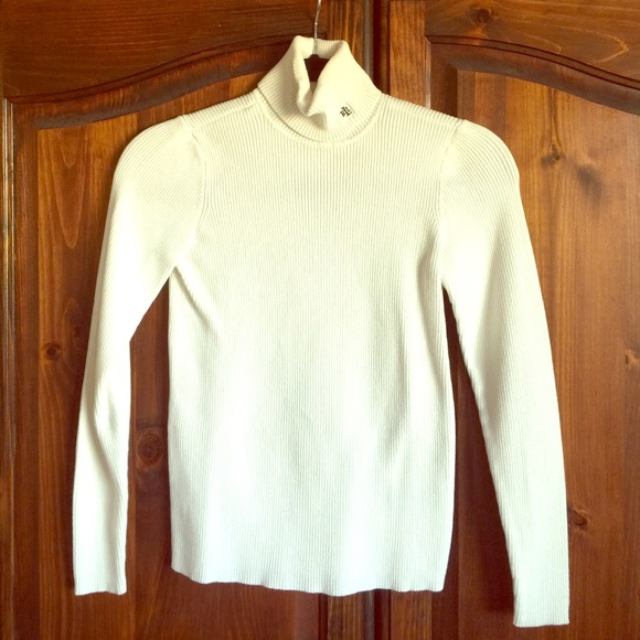 85% off Lauren Ralph Lauren Sweaters - Beautiful white classic ...