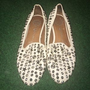 Jeffery Campbell Ibiza studded flats