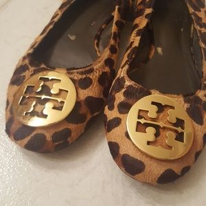 Tory Burch leopard Reva flats