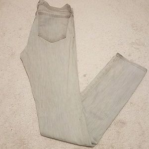 J Brand grey light wash jeans