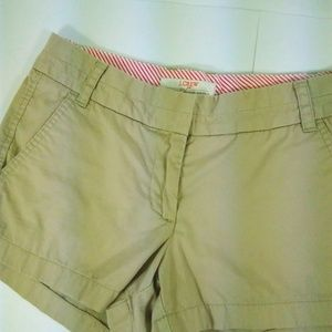 J C.rew  Size 2 Chino Shorts Casual Broken-In