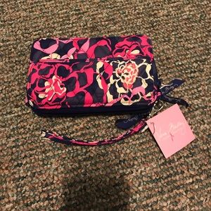Vera Bradley All in One Crossbody - Katalina Pink