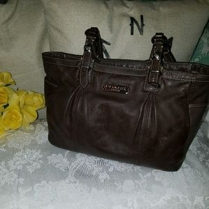 Coach East West Gallery Tote