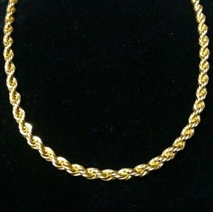 Stainless Steel men's rope chain