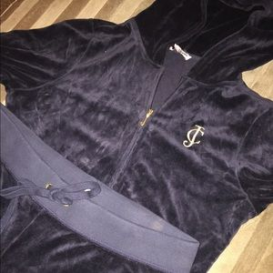 Authentic Juicy Couture Velour Sweat Suit