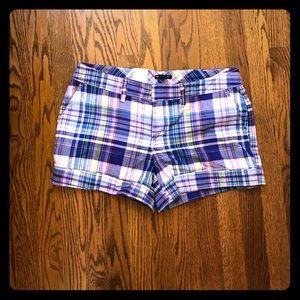 Fantastic plaid Gap shorts.