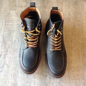 Other - Tommy Hilfiger HINSDALE Leather Hiking Boots 12