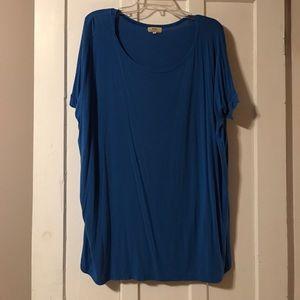 Short Sleeve Royal Blue Piko Shirt