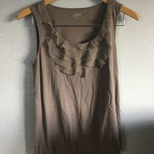 Grey Loft Sleeveless Blouse