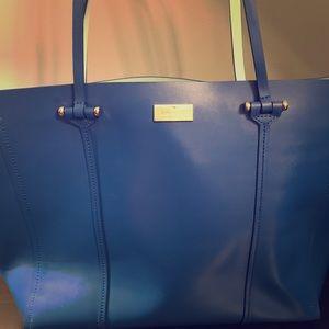 Blue Kate Spade Tote Handbag