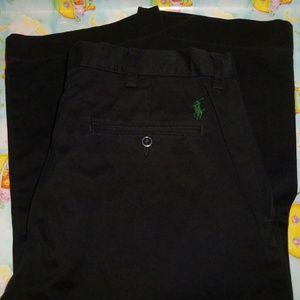 Polo by Ralph Lauren Black 34x32 Preston Pants!