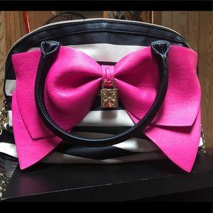 Betsey Johnson Bow Handbag