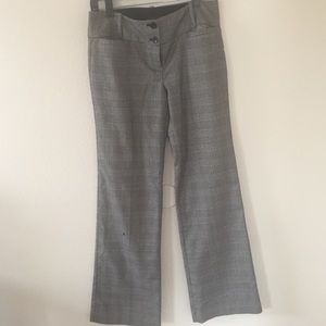 """The Limited """"Drew"""" fit plaid career pants"""