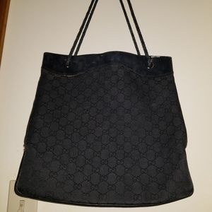 AUTH PRE OWNED GUCCI TOTE