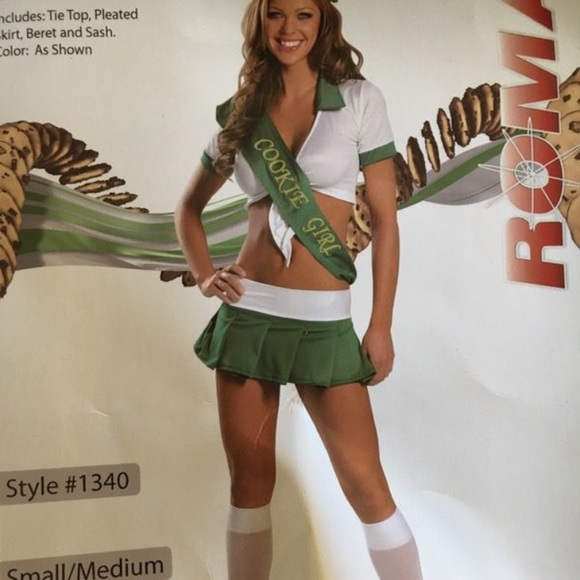 halloween costume girl scout cookie girl costume