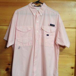 Columbia fishing shirt super bonehead Omni shade M