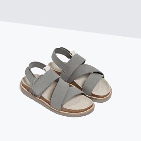 Zara Shoes   Zara Boys Leather Sandals