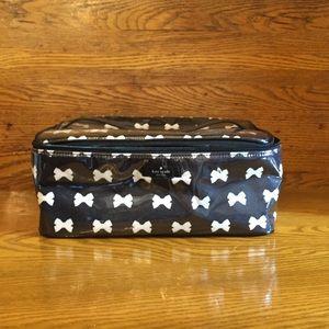 Kate Spade Bow Makeup Bag