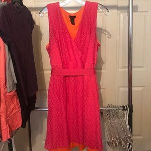 Pink/orange dress