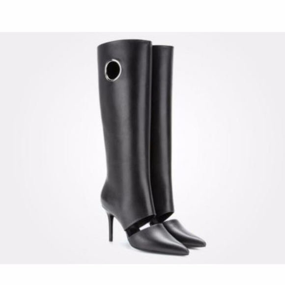 free shipping great deals cheap low shipping Salvatore Ferragamo Knee-High Cutout Boots discount with paypal outlet footlocker pictures low price sale online K3TtmgFUet