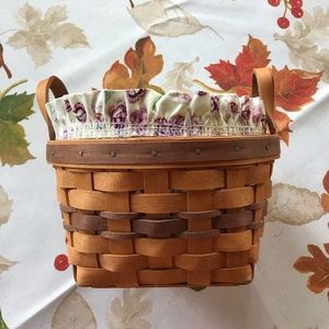 Pansy Basket