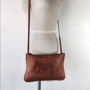 Top Shop leather cross body bag