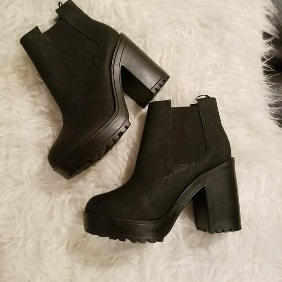 d0f0ef63c4c H M Shoes - H m black platform booties