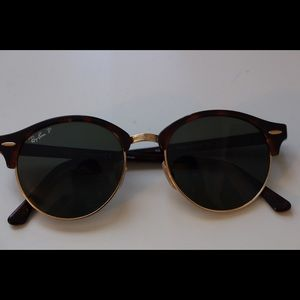 """ClubRound"" Ray-Ban polarized sunglasses"