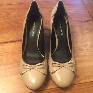 Franco Sarto block heel pumps