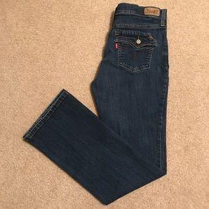 Levi's vintage 515 bootcut women's 6M jeans