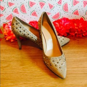 J Crew Pink Everly Studded Pumps 8.5