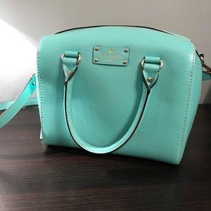 Turquoise Kate Spade Handbag