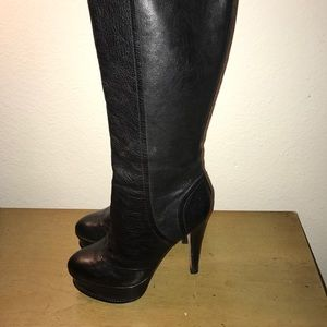 Dolce Vita knee high leather boots