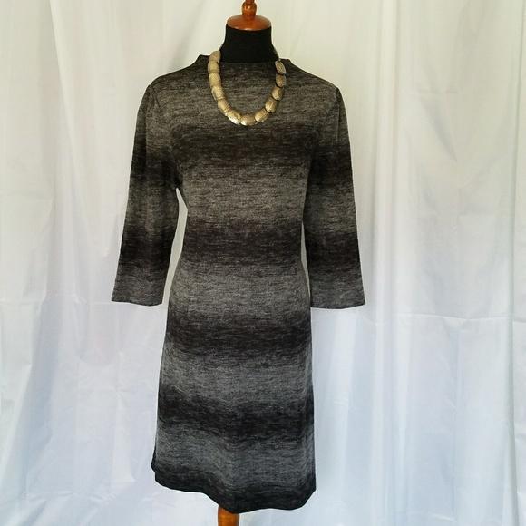 5dc49f5f2a Cato Dresses   Skirts - DROP CATO BLACK GRAY SHEATH CAREER DRESS XL