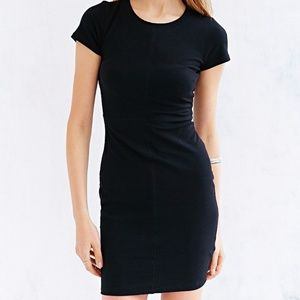 Black urban outfitters bodycon dress