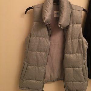 Warm Grey vest, Old Navy