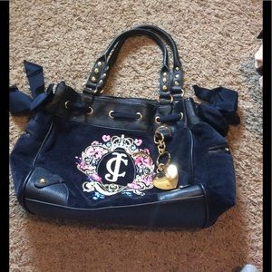 Juicy Couture Bag Navy Blue
