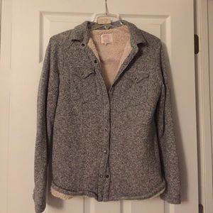 Womens Quicksilver Sherpa Lined jacket size M