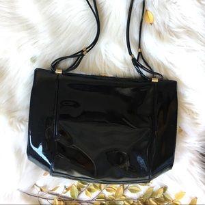 patent leather vintage 50's handbag.