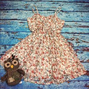 🍁NWT Torrid size 2 floral lace hippie boho dress