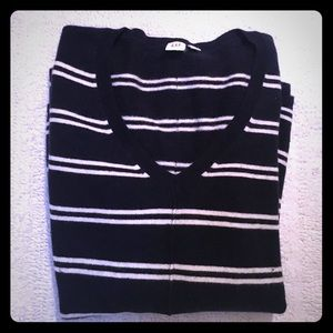 Wool blend pull over