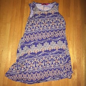 Boohoo flowy sundress