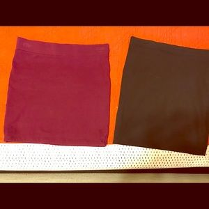 Bundle of 2 mini skirts!
