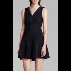 Theory Front Zip Knit Sleeveless Dress