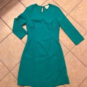 Kate Spade New York turquoise mini dress