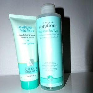 Avon skin refining mask & Gel Cleanser