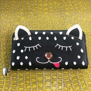 Betsey Johnson Cutesy Cat Wallet