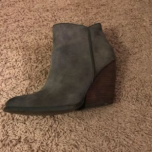 Shoes - Very volatile Los Angeles gray booties!