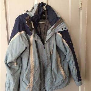 The North Face 3 in 1 Winter Ski Jacket